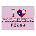 Pasadena, Texas Greeting Card