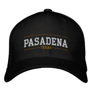 Pasadena Texas USA Embroidered Hats