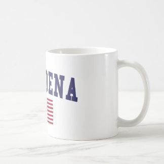 Pasadena TX US Flag Coffee Mug
