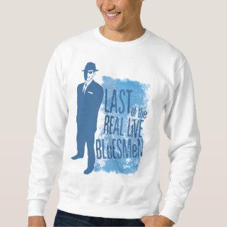 Pasado de la camiseta viva real de los Bluesmen Suéter