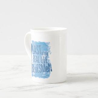 Pasado de la taza viva real de los Bluesmen Taza De Porcelana