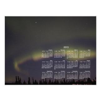 Pasado de las luces Calendario 2013 Impresión Fotográfica
