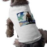 Pasado de los Mohicans Camisetas De Mascota