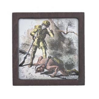 """""""Pasado de los Mohicans"""" por James Fenimore Cooper Cajas De Regalo De Calidad"""
