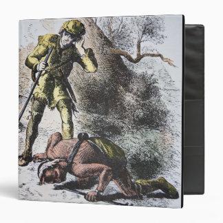 """""""Pasado de los Mohicans"""" por James Fenimore Cooper Carpeta 1 1/2"""""""