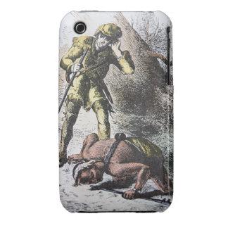 """""""Pasado de los Mohicans"""" por James Fenimore Cooper iPhone 3 Carcasa"""