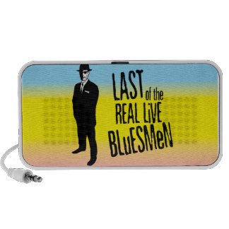 Pasado del altavoz vivo real del Bluesman