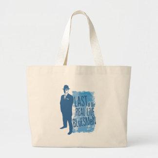 Pasado del bolso vivo real de los Bluesmen Bolsa Tela Grande