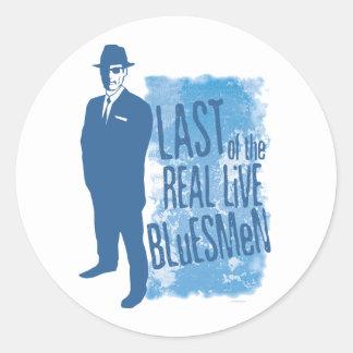 Pasado del pegatina vivo real de los Bluesmen
