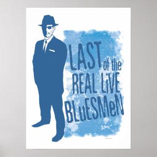 Pasado del poster vivo real de los Bluesmen