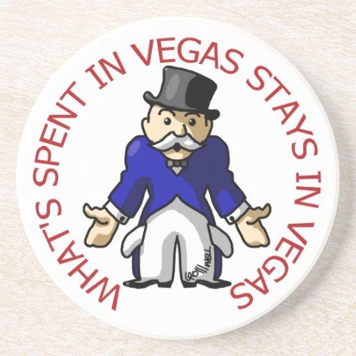 Pasado en Vegas Posavasos Manualidades