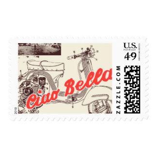 Pasaporte a Roma D de Ceci Nueva York Sellos Postales