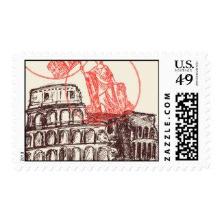 Pasaporte a Roma E - por Ceci Nueva York Sellos
