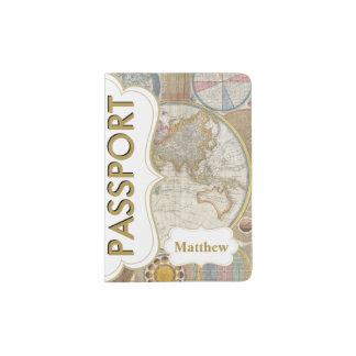 Pasaporte al mundo porta pasaportes