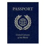 pasaporte de la marina de guerra postal