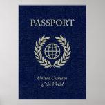 pasaporte de la marina de guerra poster