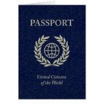 pasaporte de la marina de guerra tarjetas