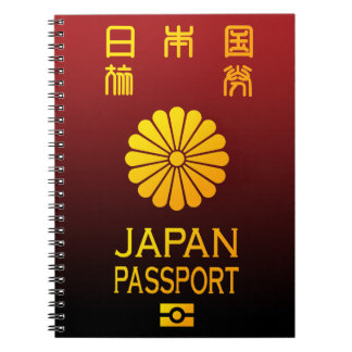 Pasaporte de Nipón Libro De Apuntes