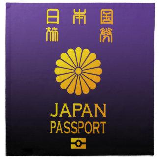 Pasaporte de Nipón Servilleta Imprimida