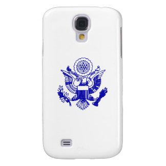 Pasaporte Eagle de los E.E.U.U., azul Funda Para Galaxy S4