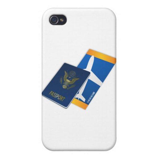 Pasaporte iPhone 4 Carcasa