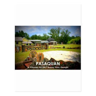 PASAQUAN - A Visonary Art Site - Buena Vista, GA Postcard
