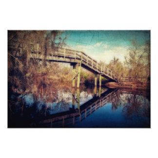 Pasarela del canal de Kenta Fotografias