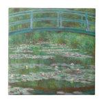 Pasarela del japonés de Monet- Azulejo