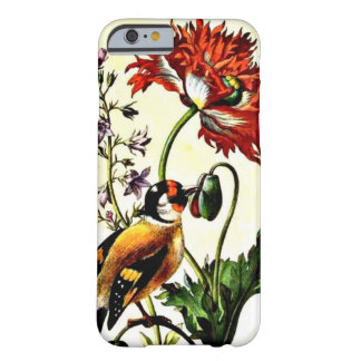 Pasari, botanical art painting barely there iPhone 6 case
