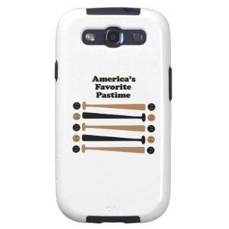 Pasatiempo del favorito de Américas Samsung Galaxy S3 Funda
