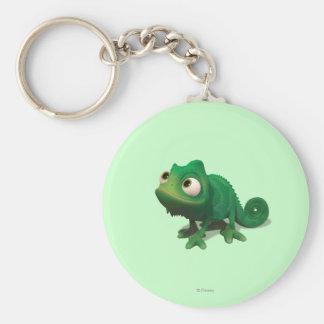 Pascal Basic Round Button Keychain