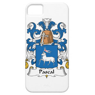 Pascal Family Crest iPhone 5 Cases