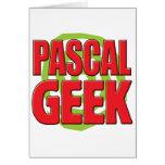 Pascal Geek Greeting Cards