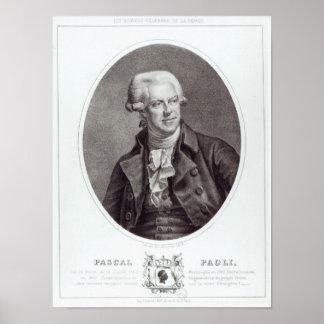 Pascal Paoli, 1872 Impresiones