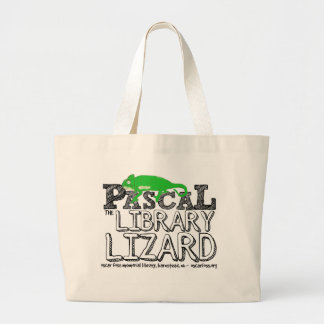 Pascal the Library Lizard Tote