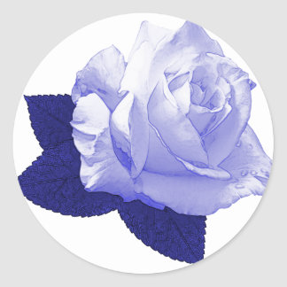 Pascali Rose Classic Round Sticker