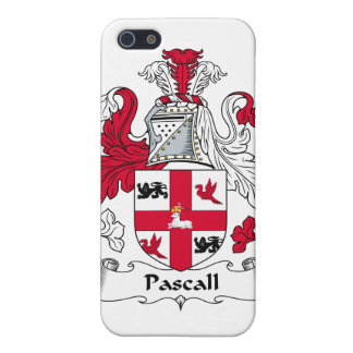 Pascall Family Crest iPhone 5 Covers
