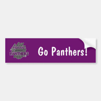 Paschal High School Panthers - Fort Worth, TX Bumper Sticker