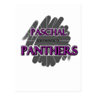 Paschal High School Panthers - Fort Worth, TX Postcard