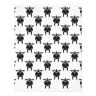 Paschal Lambs Letterhead Design