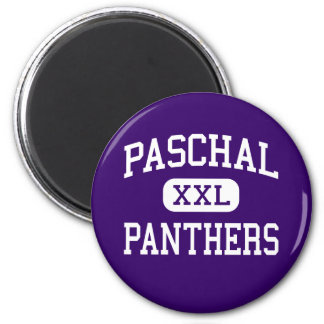 Paschal - Panthers - High - Fort Worth Texas 2 Inch Round Magnet