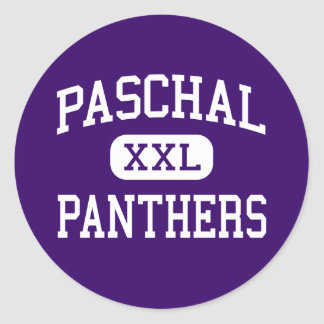 Paschal - Panthers - High - Fort Worth Texas Stickers