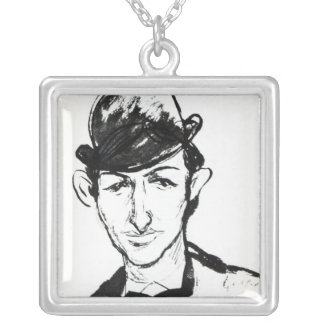 Pascin Silver Plated Necklace