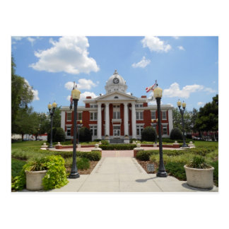 Pasco County Court House Florida Postcard