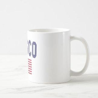 Pasco US Flag Coffee Mug