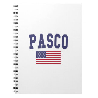 Pasco US Flag Notebook