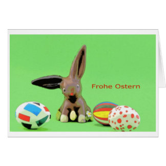 Pascua alegres tarjeta de felicitación