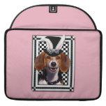 Pascua - algún conejito le ama - beagle funda para macbooks