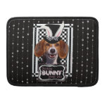 Pascua - algún conejito le ama - beagle fundas macbook pro