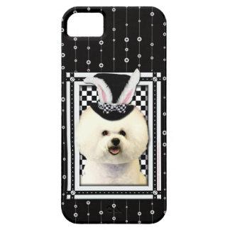 Pascua - algún conejito le ama - Bichon Frise Funda Para iPhone SE/5/5s
